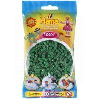 Hama H207-10 - Zažehlovací korálky MIDI zelené 1.000 ks