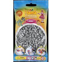 Hama H207-17 Midi Šedé korálky 1000 ks