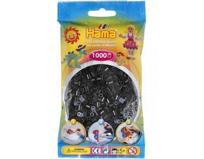 Hama H207-18 - Zažehlovací korálky MIDI černé 1.000 ks