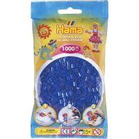 Hama H207-36 Neonové modré korálky 1000 ks Midi