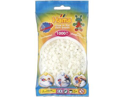 Hama H207-55 Zažehlovací korálky Midi svítící zelené 1000 ks