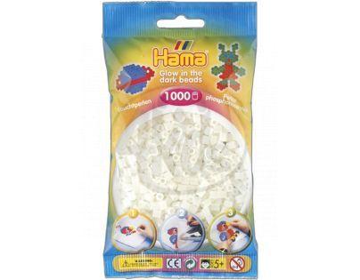 Hama H207-55 - Zažehlovací korálky MIDI svítící zelené 1.000 ks