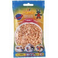 Hama H207-56 - Svítící korálky - barva lososová