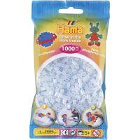 Hama H207-57 Midi Svítící korálky modré 1000 ks