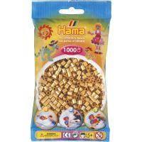 Hama H207-61 Midi Zlaté korálky 1000 ks