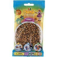 Hama H207-75 Korálky světle hnědé 1000 ks Midi