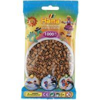 Hama H207-76 Korálky hnědé 1000 ks Midi