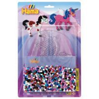 Hama H4024 - Korálkový set - Kouzelný koník MIDI