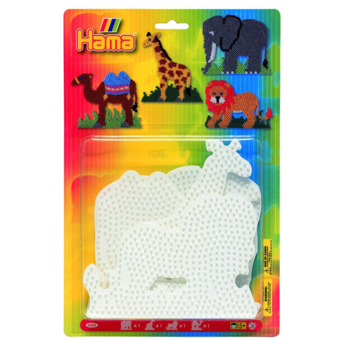 Hama H4554 Midi podložky Lev, žirafa, slon a velbloud HAMA