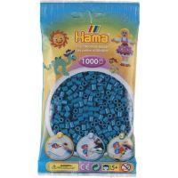 Hama Midi Korálky tmavě tyrkysová 1000 ks
