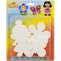 Hama Midi Podložky motýl, květina a holčička