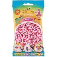 Hama Midi Zažehľovacie korálky Pastelovo svetlo ružové 1000 ks