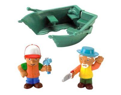Fisher Price Handy Manny figurky - Loďka