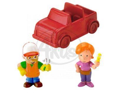 Fisher Price Handy Manny figurky - Auto
