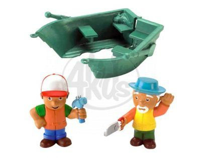 Fisher Price Handy Manny figurky - Loďka