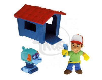 Fisher Price Handy Manny figurky - Psí bouda