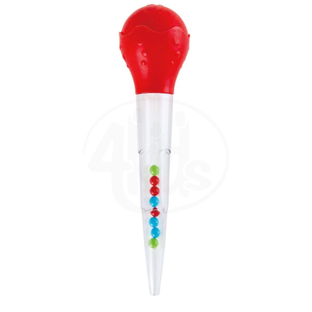 Hape Hračky do vody stříkací pipety červená