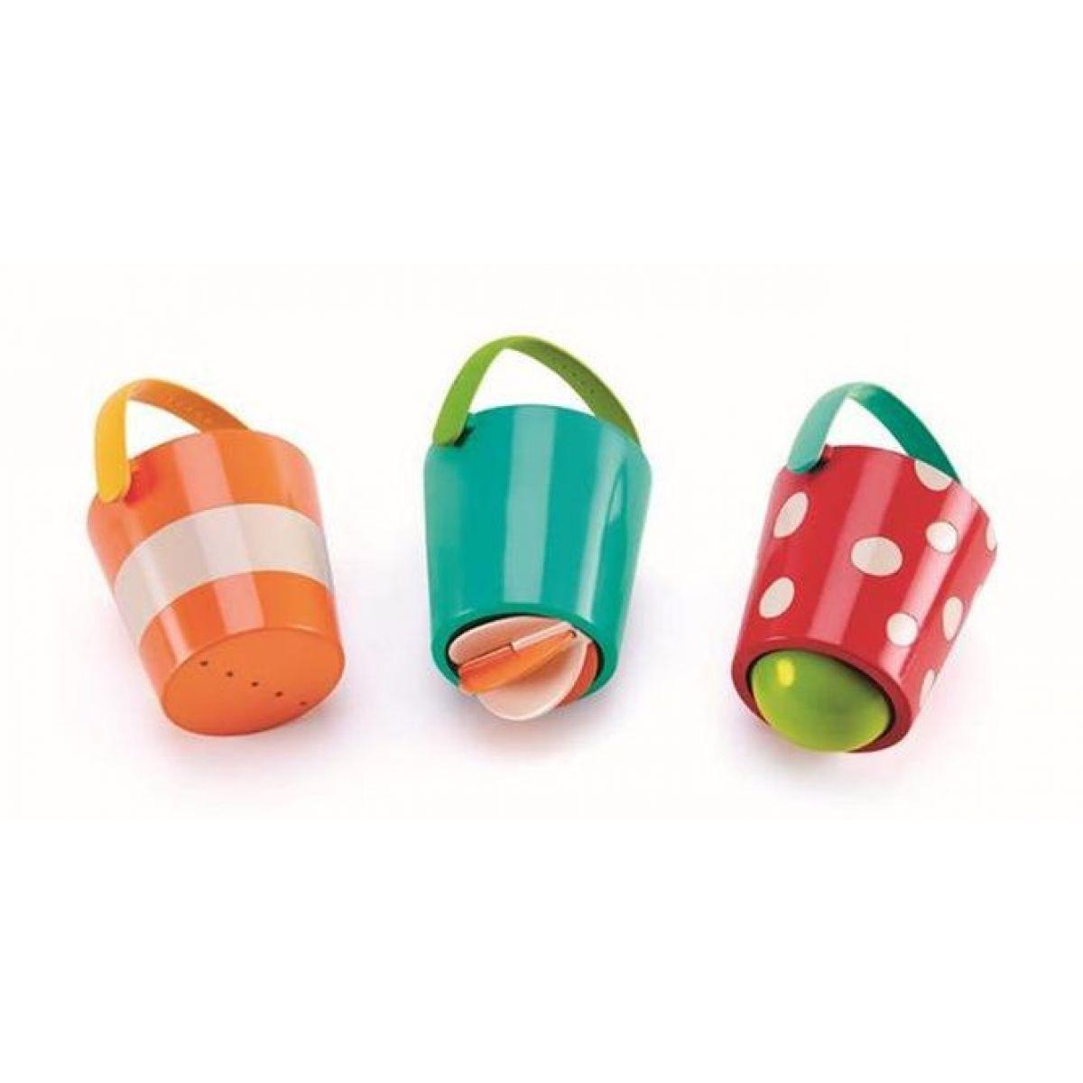 Hape Hračky do vody Veselé kbelíky set