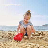 Hape Hračky na písek Velká tlapa červená 3