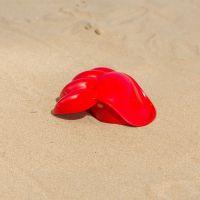 Hape Hračky na písek Velká tlapa červená 4
