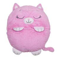 Happy Nappers Spacáčik Zaspávačik Rúžová mačička Charlotte