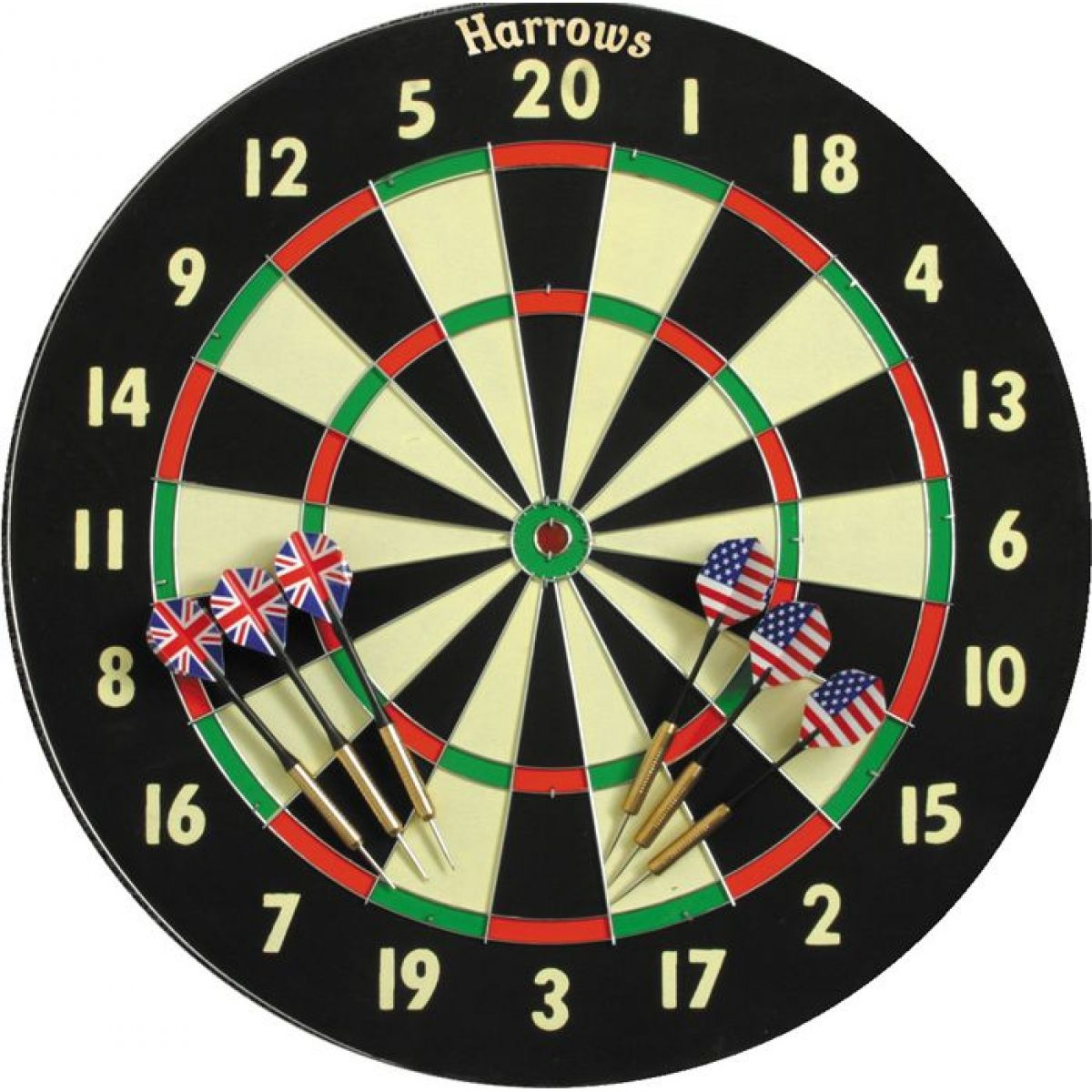 Harrows Papírový terč Family Darts Game