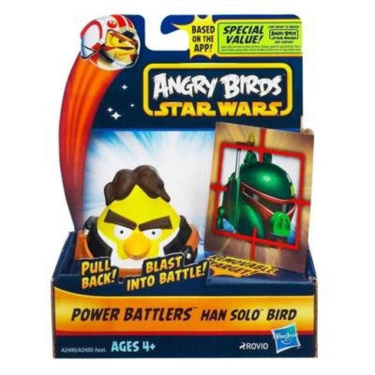 Hasbro Angry Birds Natahovací míček s terčem - Han Solo
