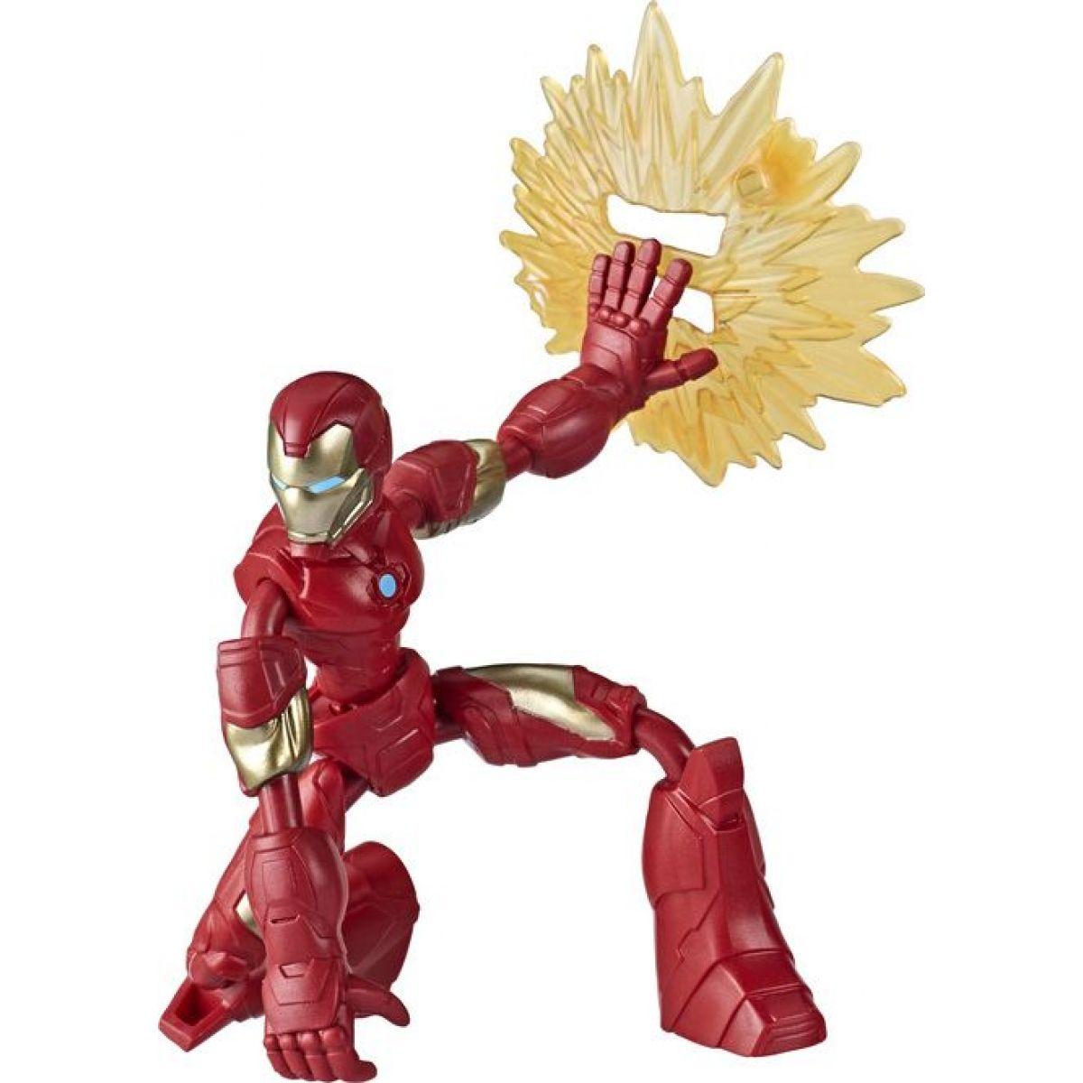 Hasbro Avengers figurka Bend and Flex 15 cm Iron Man