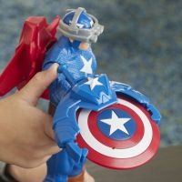 Hasbro Avengers figurka Capitan America s Power FX přislušenstvím 30 cm 3