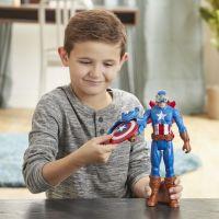 Hasbro Avengers figurka Capitan America s Power FX přislušenstvím 30 cm 4
