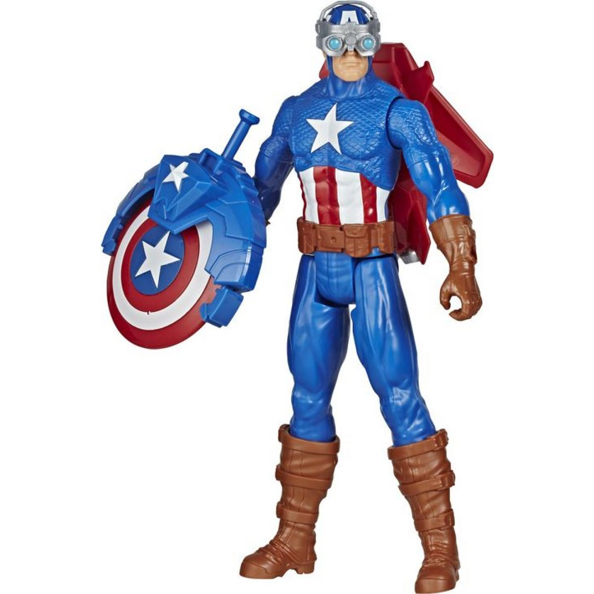Hasbro Avengers figurka Capitan America s Power FX přislušenstvím 30 cm