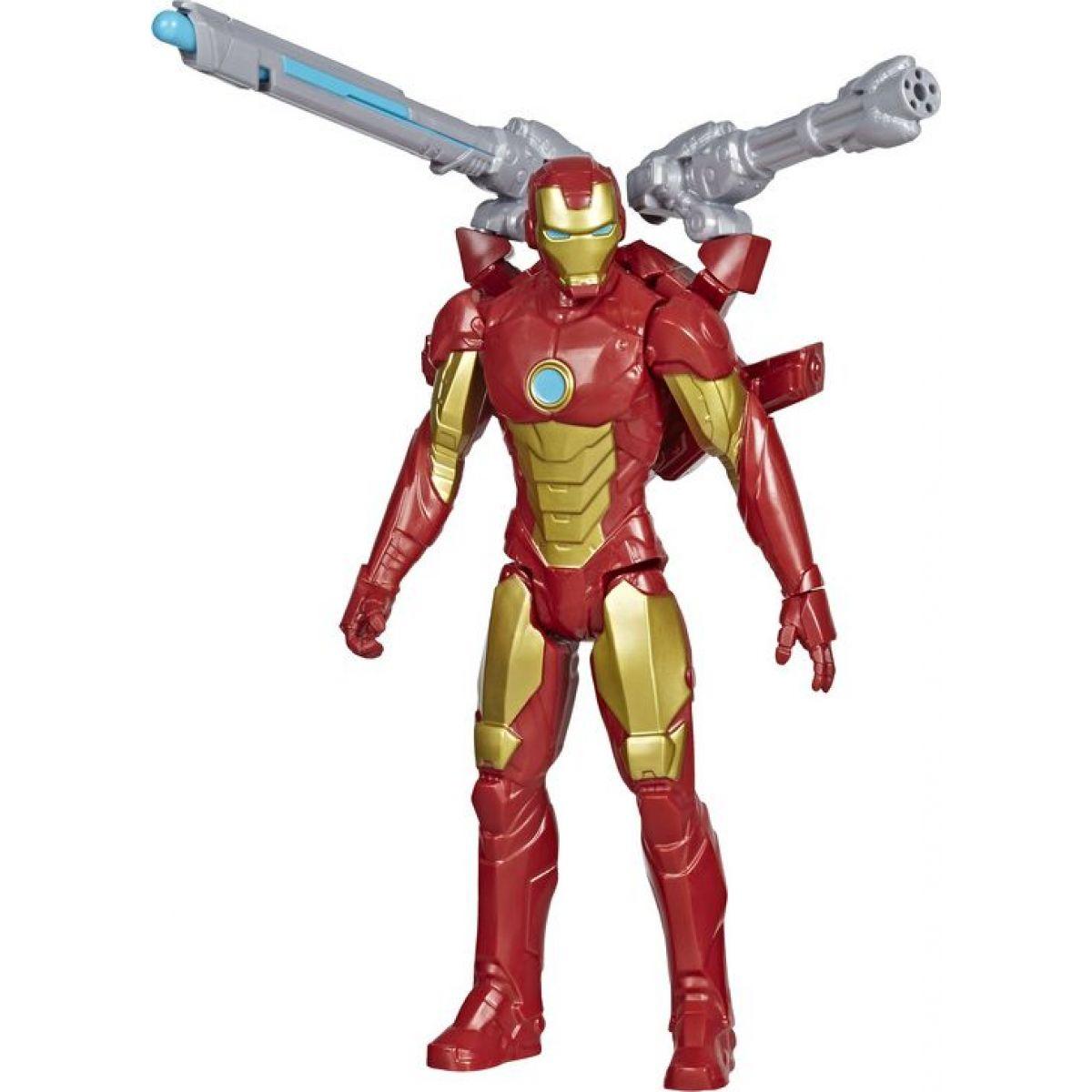 Hasbro Avengers figurka Iron Man s Power FX přislušenstvím