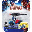 Hasbro Avengers Figurka s vozidlem - Captain America 3