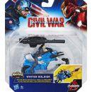 Hasbro Avengers Figurka s vozidlem - Winter Soldier 3