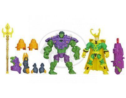 Hasbro Avengers Super Hero Mashers Hrdina a zloduch - Hulk vs. Loki