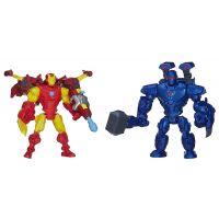 Hasbro Avengers Super Hero Mashers Hrdina a zloduch - Iron Man vs. Iron Monger