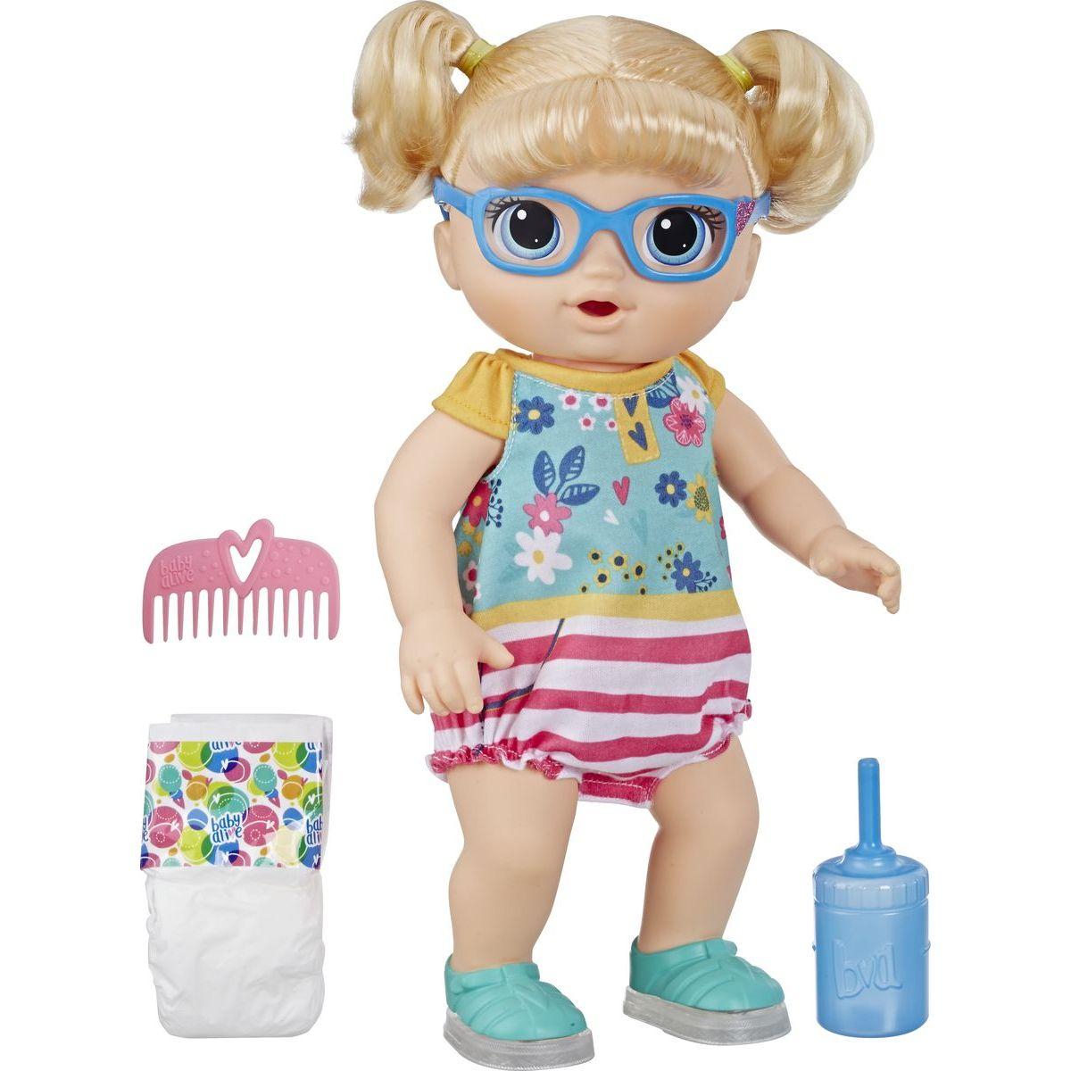 Hasbro Baby Alive Chodící panenka s blond vlasy
