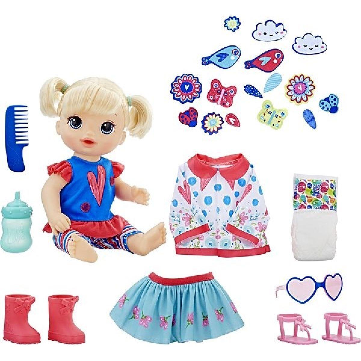 Hasbro Baby Alive Panenka s náhradním oblečením BL