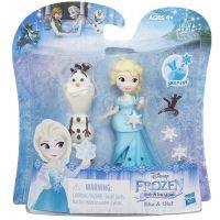 Hasbro Disney Frozen Little Kingdom Mini panenka s kamarádem - Elsa & Olaf 4