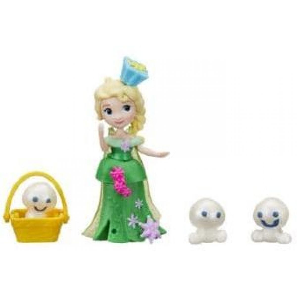 Hasbro Disney Frozen Little Kingdom Mini panenka s kamarádem Elsa a Snowfies