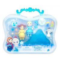 Hasbro Disney Frozen Little Kingdom Set malé panenky s příslušenstvím - Snow Sisters Set 2