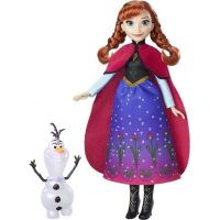 Hasbro Disney Frozen Panenka s třpytivými šaty a kamarádem
