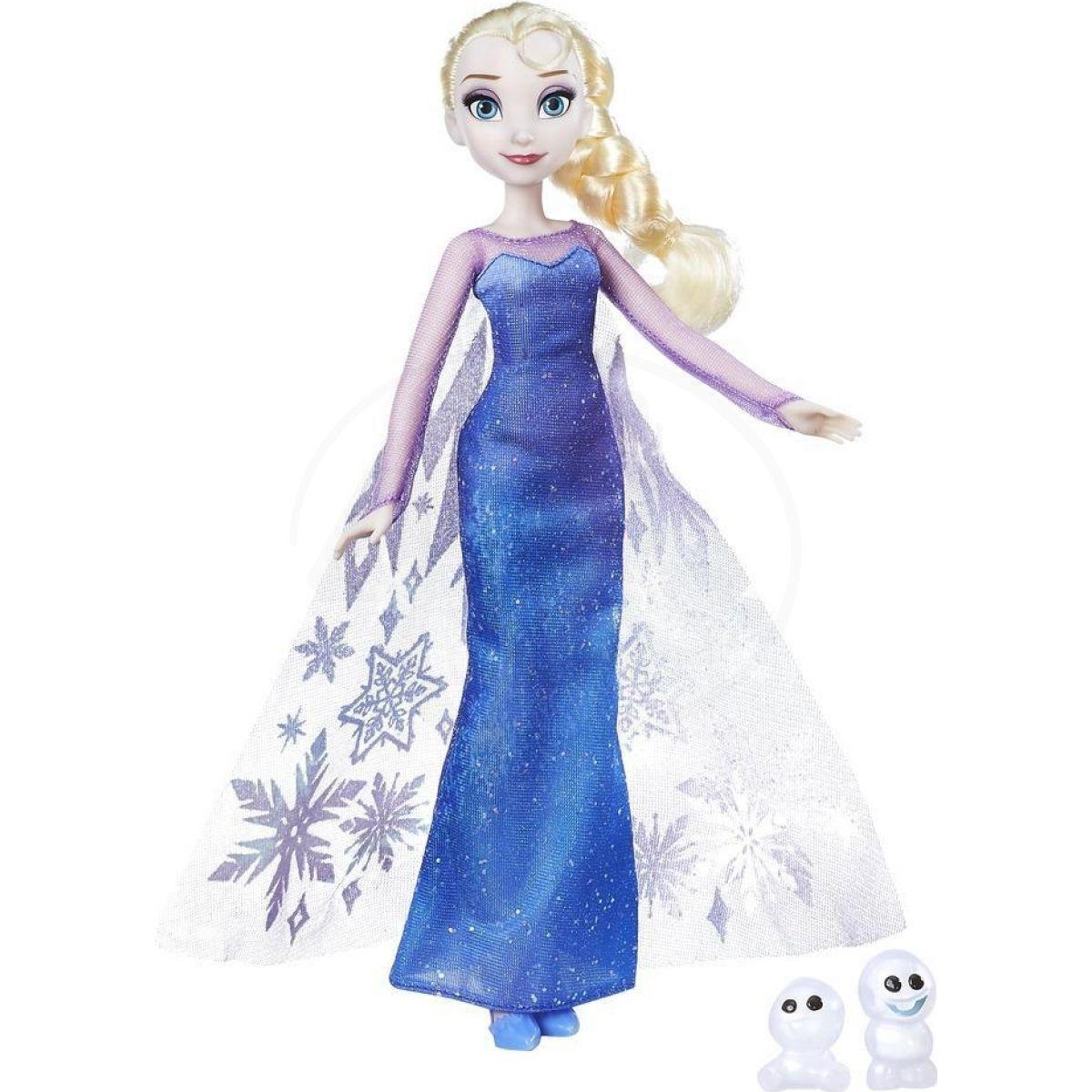 ea5f9cf04e5e Hasbro Disney Frozen Panenka s třpytivými šaty a kamarádem Elsa