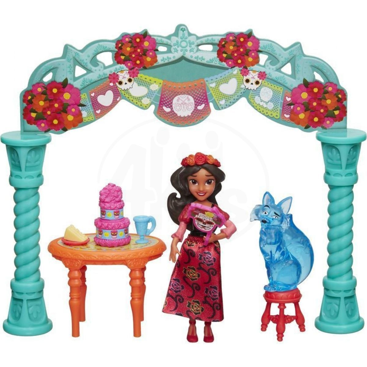 Hasbro Disney Princess Mini panenka Elena z Avaloru set Oslava
