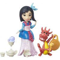 Hasbro Disney Princess Mini princezna s kamarádem B7161 Mulan