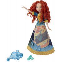 Hasbro Disney Princess Panenka s vybarvovací sukní - Merida 2