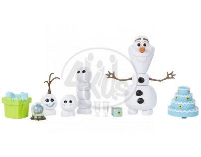 Hasbro Ledové království Olaf s párty doplňky