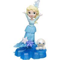 Hasbro Ledové království Mini panenka s podstavcem a kamarádem Elsa
