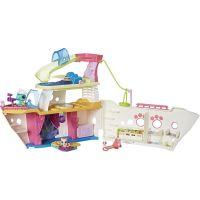 Hasbro Littlest Pet Shop Hrací set výletní loď se 3 zvířátky 2