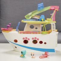 Hasbro Littlest Pet Shop Hrací set výletní loď se 3 zvířátky 4